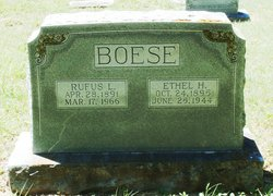 Ethel Hortense <i>Massey</i> Boese