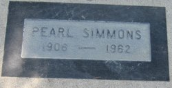 Essie Pearl Pearlia <i>Veteto</i> Simmons