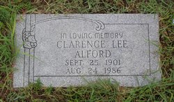 Clarence Lee Alford