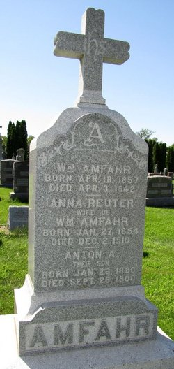 Anna <i>Reuter</i> Amfahr