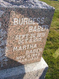Burgess B Baber