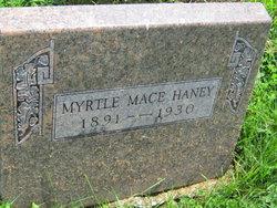 Myrtle <i>Mace</i> Haney
