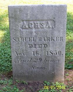 Achsa Cecillia Axia <i>Trowbridge</i> Barker