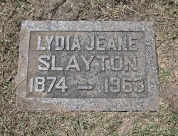 Lydia Jeane <i>Fudge</i> Slayton