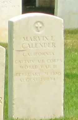Marvin E Calender