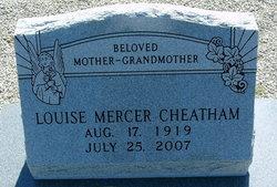 Laura Louise <i>Mercer</i> Cheatham