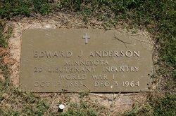 Lieut Edward J Anderson
