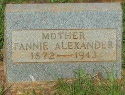 Fannie <i>Robertson</i> Alexander