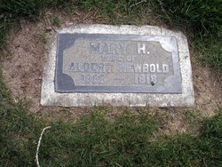 Mary Hannah <i>Jenkins</i> Newbold