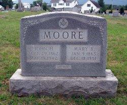 Mary Rosanna Mollie <i>Davison</i> Moore