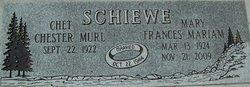 Fances Mariam Mary <i>Miller</i> Schiewe