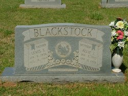 Allie Lillian <i>Lawson</i> Blackstock