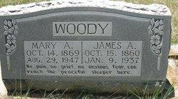 Mary Ann Molly <i>McBride</i> Woody