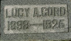 Lucy A. <i>Letcher</i> Cord