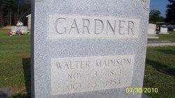 Walter Madison Gardner
