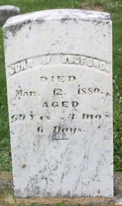 John W Bedford