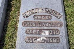 Alma <i>Roberts</i> Abel