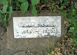 Nancy Jane <i>Hufford</i> Lord
