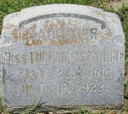 Miss Thelma M Wolfe