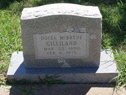 Docia <i>McBryde</i> Gilliland