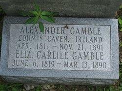 Elizabeth <i>Carlisle</i> Gamble
