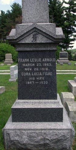 Cora Lucia <i>Fiske</i> Arnold