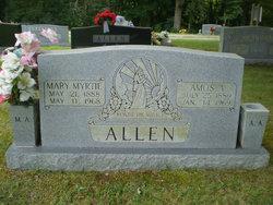 Mary Myrtie <i>Wilmoth</i> Allen
