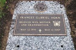 Frances <i>Gabriel</i> Horn