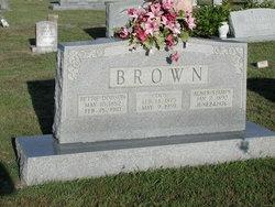 Elizabeth <i>Dodson</i> Brown