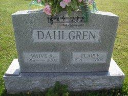 Waive A. <i>Henry</i> Dahlgren