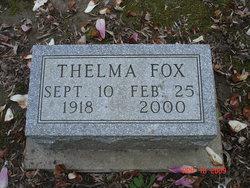 Thelma Justine <i>Gahimer</i> Fox