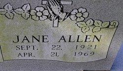 Jane <i>Hughes</i> Allen