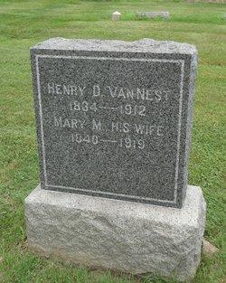 Mary Mathilda <i>Vanness</i> Van Nest