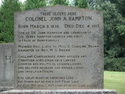 Col John A. Hampton