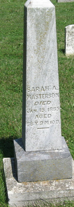 Sarah Ann <i>Jackson</i> Masterson