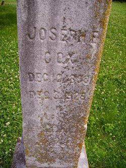 Joseph Franklin Cox