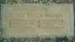 Nora Louise <i>Taylor</i> Walmer