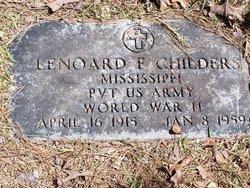 Leonard Franklin Childers