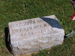 Corp John Houston