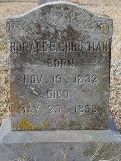 Sgt Horace Brockenbrough Christian