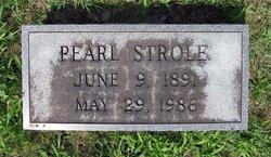 Lula Pearl <i>Sullivan</i> Strole