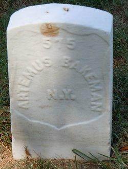Artemus Bakeman