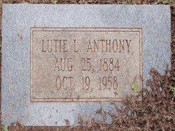 Lutie Lillian <i>Mauldin</i> Anthony