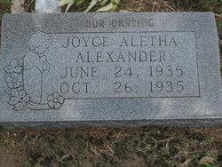 Joyce Aletha Alexander