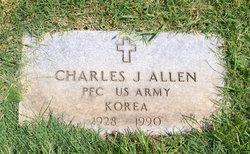 PFC Charles J Billy Allen