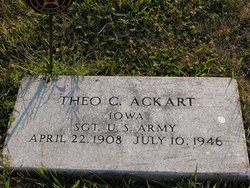 Theodore Clarence Theo Ackart