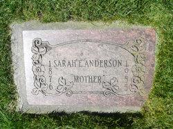Sarah Ellen <i>Johnson</i> Anderson
