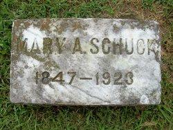 Mary A. <i>Schneider</i> Schuck