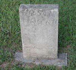 Jessie Wilson Wilse Brown