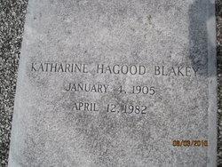 Katharine <i>Hagood</i> Blakey